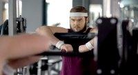 Overweight-Beginner-Focused-Preparing-Exercise