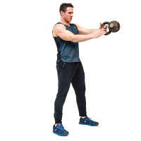 Don-Salidino-Performing-One-Arm-Kettlebell-Swing-Exercise-Step-Two