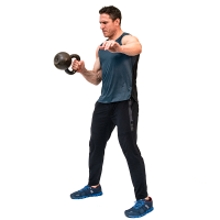 Don-Salidino-Performing-1-Arm-Kettlebell- Bottoms-Up-Clean-Step-two