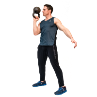 Don-Salidino-Performing-1-Arm-Kettlebell- Bottoms-Up-Clean-Step-three