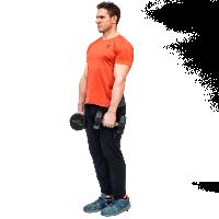 Don-Salidino-Performing-Dumbbell-Single-Leg-Romanian-Deadlift-Exercise-Step-One