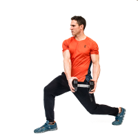 Don-Salidino-Performing-Dumbbell-Woodchopper-Exercise-Step-One