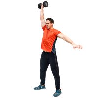 Don-Salidino-Performing-Dumbbell-Snatch-Exercise-Step-Two