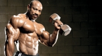 Dexter-Jackson-Raising-Dumbbell-Mr-Olympia-Legend