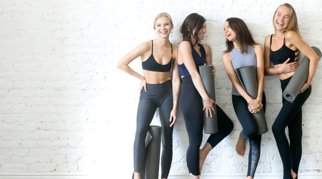 Group-Of-Young-Yoga-Girls-Hanging-Out