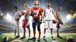 Variety-Of-Athletes-Wearing-Sports-Team-Uniform-Jersey
