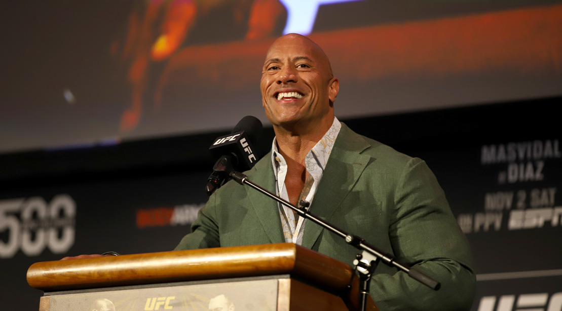 The Rock Looks Every Inch a Superhero in the Gym