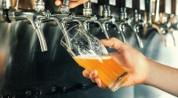 Bartender-Pouring-Beer-From-Tap-Into-A-Glass