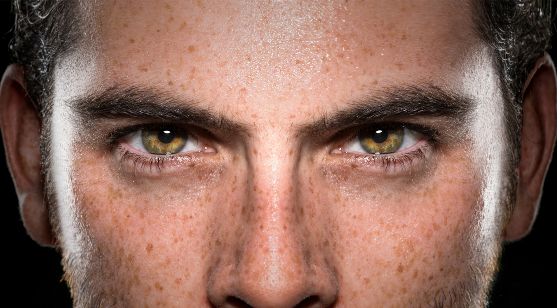 Man-With-Intense-Eyes-Focused