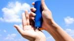 Applying Sunscreen To Hands