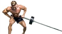 Bodybuilder-Performing-Exercise-With-Barbell