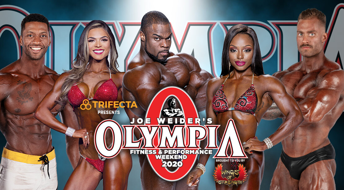 2020 Olympia Weekend Athletes