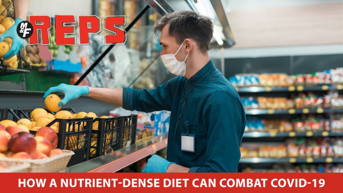 How a Nutrient-dense Diet Can Combat COVID-19