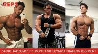 Bodybuilder Sadik Hadzovic
