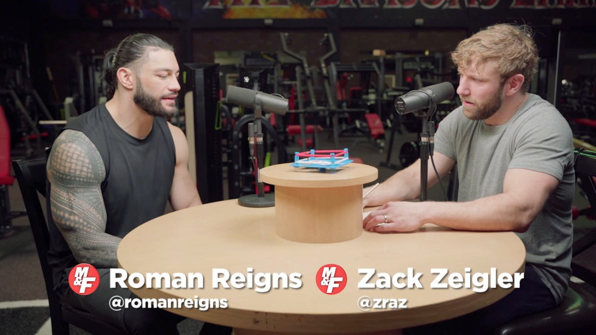 Roman Reigns Talks Battle With Leukemia, WrestleMania, and Fighting Brock Lesnar