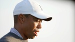 Golfer-Tiger-Woods-Looking-Defeated