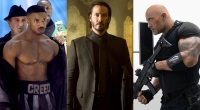 Michael B Jordan Keanu Reeves And The Rock Promo Image For 30 Best Movies To Stream