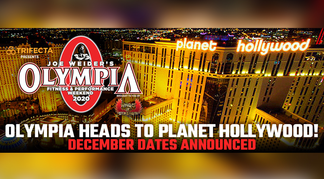 Mr. Olympia 2020 at Planet Hollywood in Las Vegas