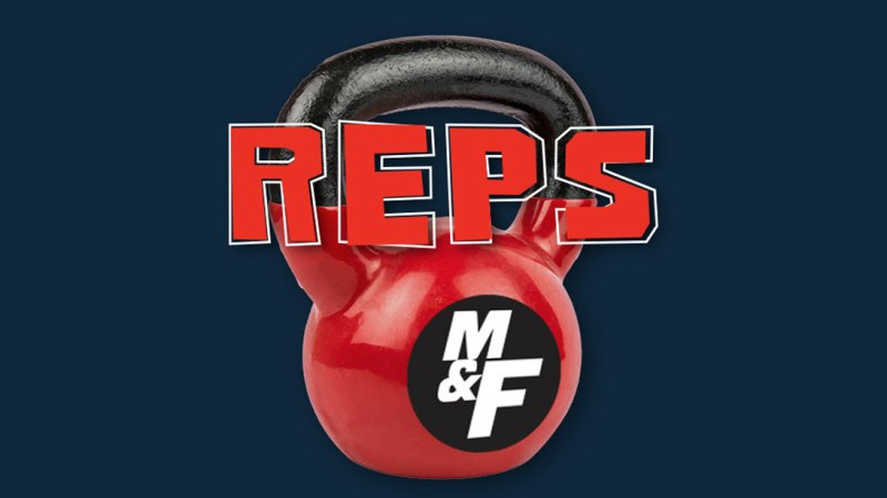 Muscle and Fitness Reps Podcast logo