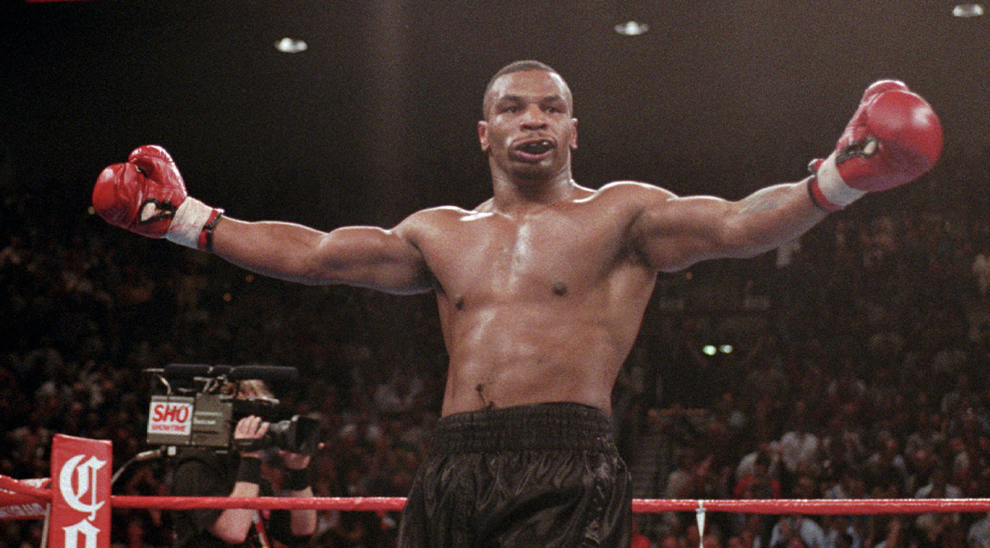 Mike Tyson in the Boxing Ring
