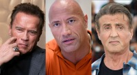 Arnold Schwarzenegger The Rock and Syvester Stallone celebrities that used steroids