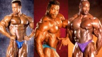 Bodybuilder Shawn Ray Aaron Baker and Ronnie Coleman