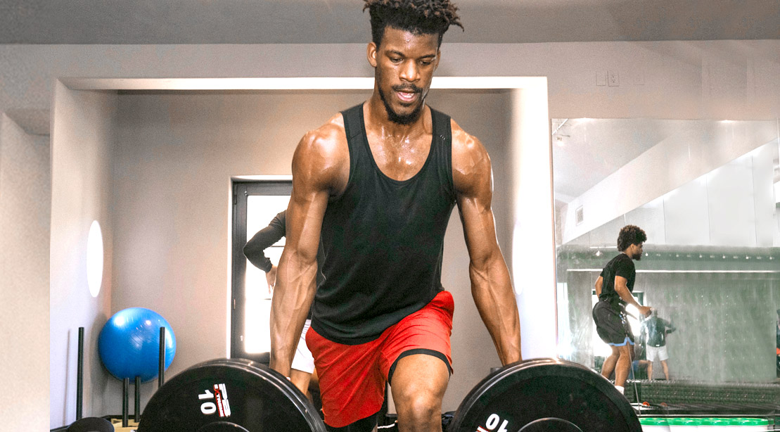 How Jimmy Butler Stayed In Shape During The Pandemic Muscle Fitness