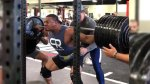 Larry Wheels Squat