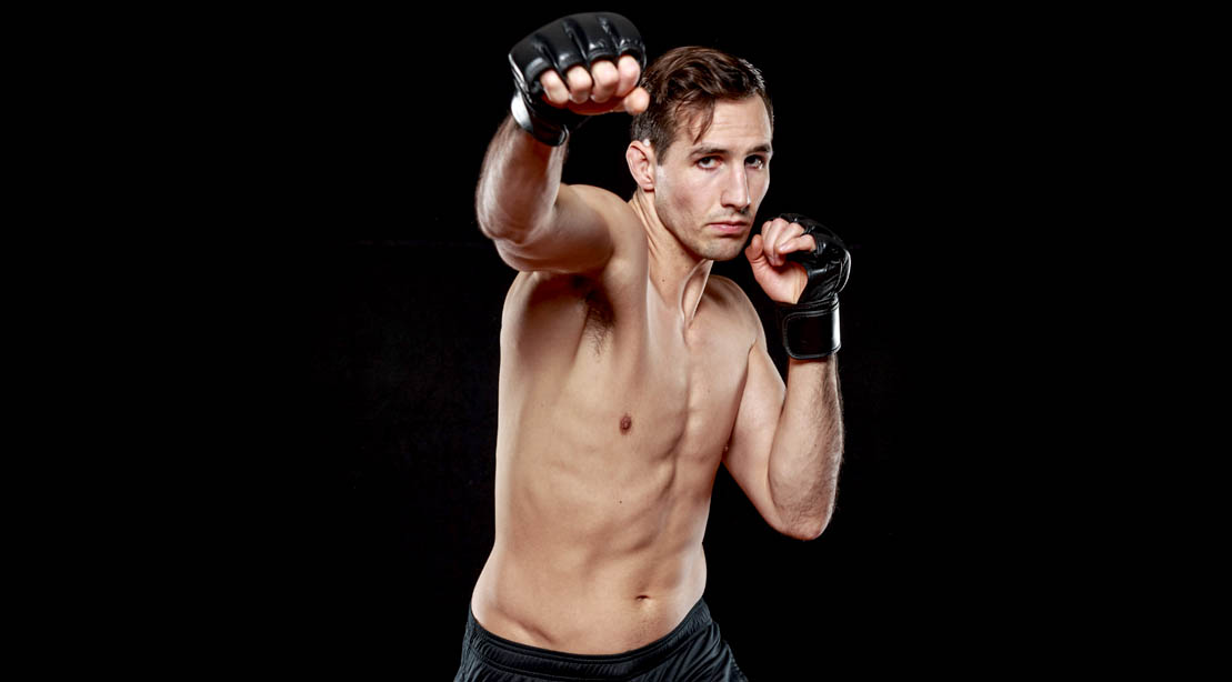 Canadian MMA Fighter Rory MacDonald workout during the corona pandemic