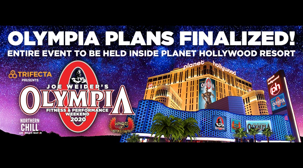 Olympia Plans Finalized