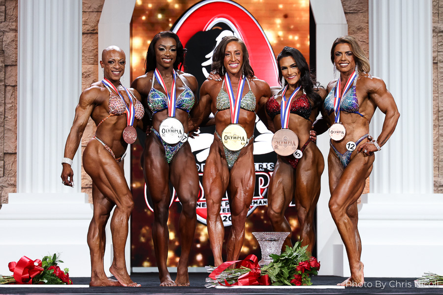 Women's Physique Olympia Champions