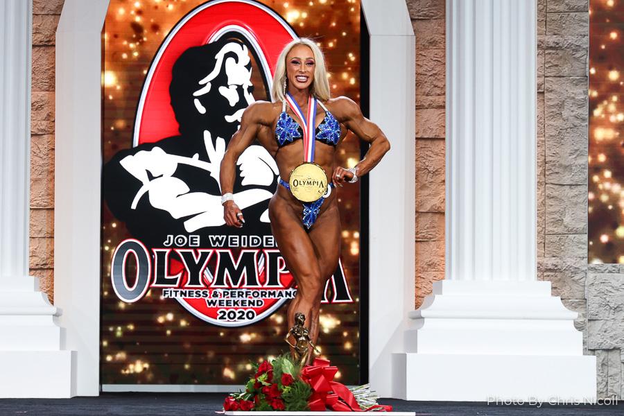 Missy Truscott Wins the 2020 Fitness Olympia