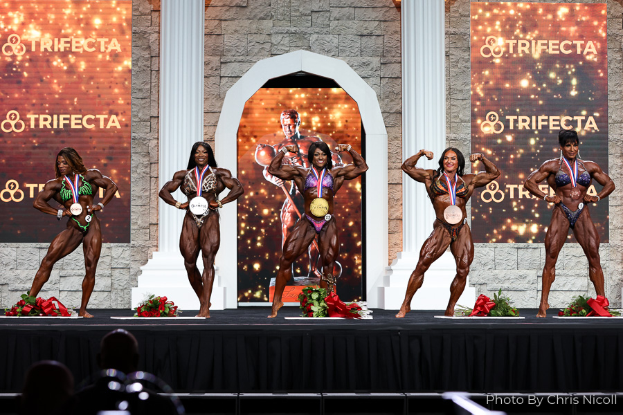 2020 Ms. Olympia Top 5