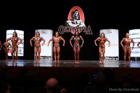 Women's Physique Olympia Prejudging