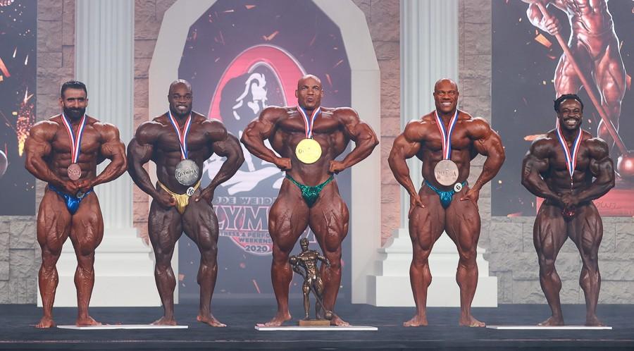 Mr. Olympia 2020 Winners