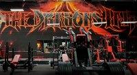 Flex Lewis's gym The Dragons Lair in Las Vegas, Nevada