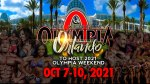 Joe Weider Olympia 2021 in Orlando Florida
