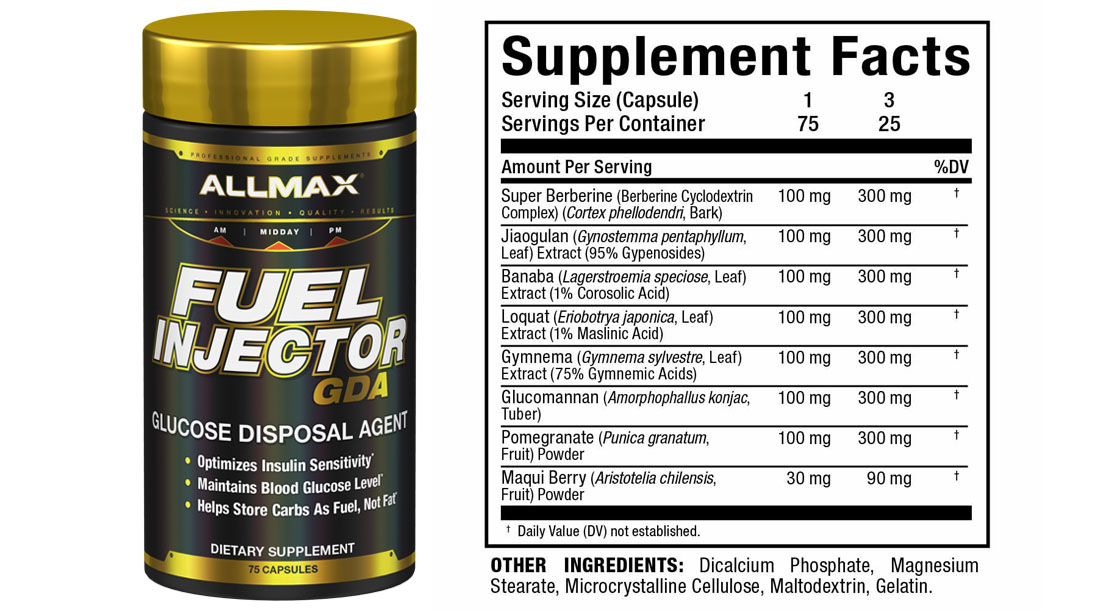 ALLMAX-Fuel-Injector-Supplement-GDA-And-Nutritional-Label-And-Information
