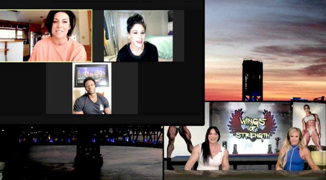 Danna Linn Bailey, Ashley Kaltwasser, Breon Ansley talk about their social media presence on Femme Flex Friday