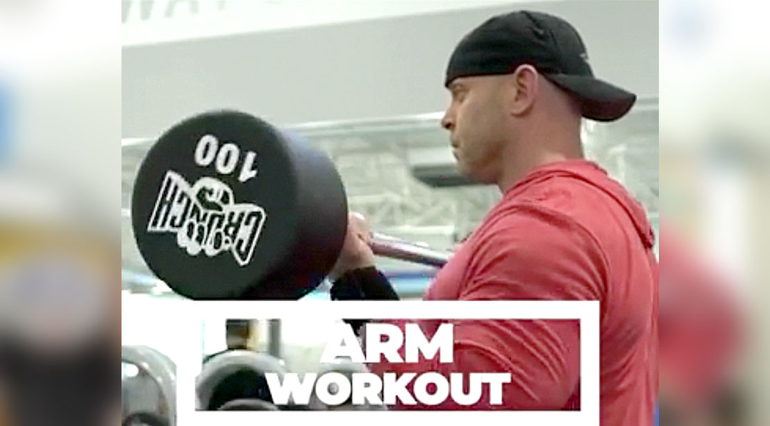 David six arms exercises to blast your arms workout routine