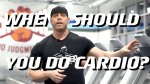 David Baye Back 2 basics when should you do cardio when working out