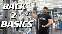 David Baye teaches how to do a wide grip lat pulldown exercise