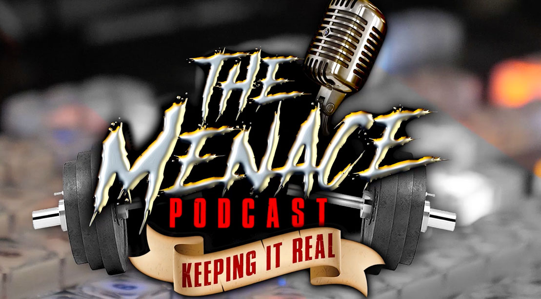 Dennis James new podcast promo for The Menace Podcast on Muscle and Fitness Youtube