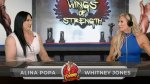 Femme Flex Friday with muscular woman Alina Popa and co-host female bodybuilder Whitney Jones