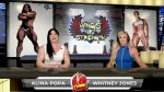 Femme Flex Friday with host female bodybuilder Alina Popa and guest co-host Fitness Olympia Champion Whitney Jones