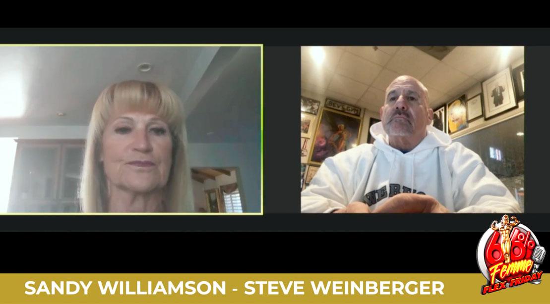 IFBB Judges Steve Weinberger and Sandy Williamson interview on Femme Flex Friday
