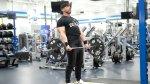 David Baye demonstrating how to do a deadlift on back 2 basics