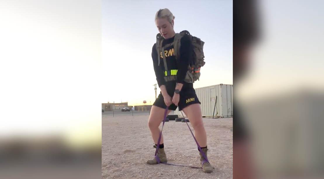 First Lieutenant Eleanor Baranofsky Full-Body Multi-Circuit Workout