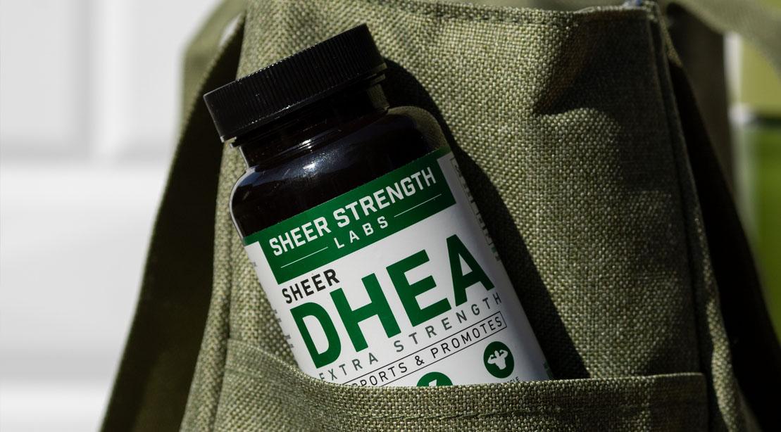 Sheer Strength Labs DHEA Bottle