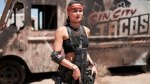 Army of the Dead's Samantha Win Playing Her Role As Chambers